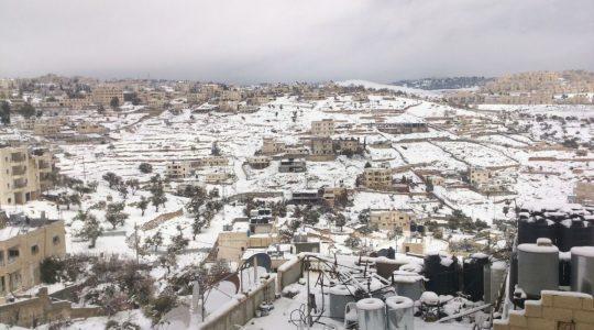 Betlejem w śniegu  (17.01.2019)