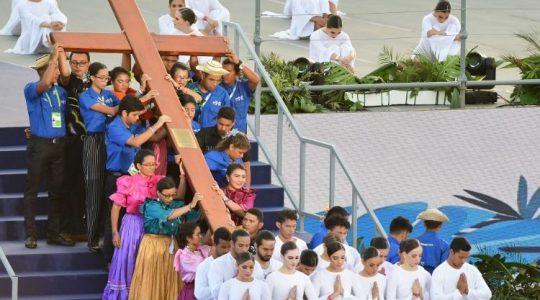 Droga Krzyżowa młodzieży w Panamie - ŚDM Panama (Vatican Service News - 26.01.2019)