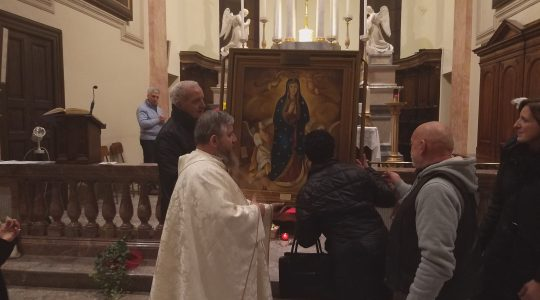 W Mediolanie o tym, jak przyjmować Eucharystię  (3.02.2019)