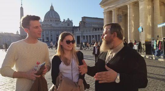 O spotkaniu na Placu św. Piotra i… pączkach  (16.02.2019)