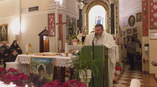 Spotkanie modlitewne w sanktuarium Matki Bożej w Curtarolo (18.02.2019)