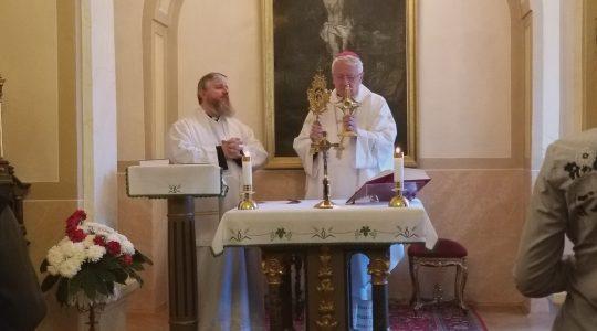 W Rożnavie: modlitwa i życzenia dla bp. Stolarika  (28.02.2019)