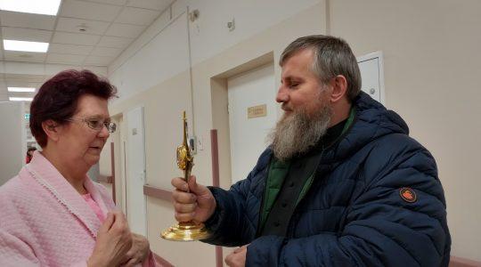 Odwiedziny w rzeszowskim szpitalu  (28.02.2019)