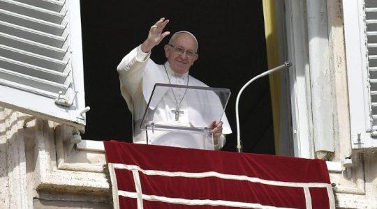 Anioł Pański z Ojcem Świętym Franciszkiem ( Vatican Service News - 17.02.2019)