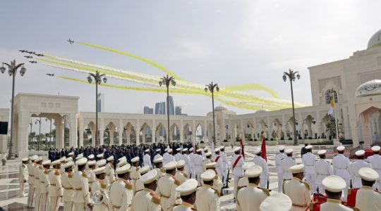 Niezwykłe powitanie przygotowane Ojcu Świętemu Franciszkowi w Emiratach Arabskich (Vatican Service News - 04.02.2019)