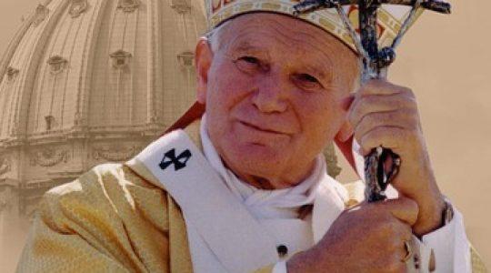 Z wdzięczności dla Świętego Jana Pawła II  (13.02.2019)