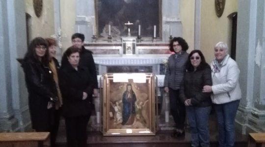 Wizerunek Matki Bożej Dobrego początku odwiedza włoskie rodziny (17.03.2019)