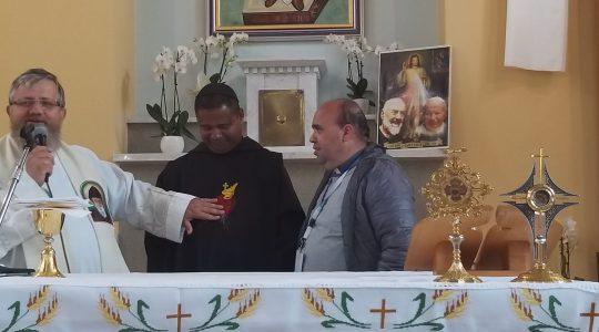 W Dolinie Miłosierdzia z braćmi z Brazylii  (30.04.2019)