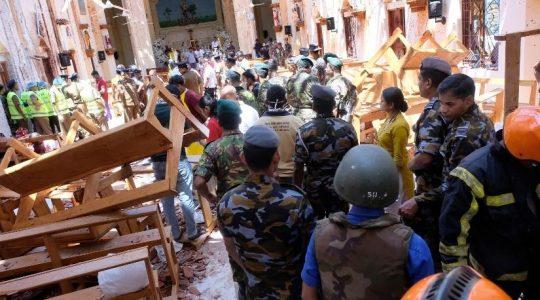Krwawy atak na chrześcijan na Sri Lance . Wielu zabitych ( Vatican Service News - 21.04.2019)