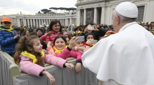 Bądźcie sługami nadziei, której tak bardzo potrzebuje świat. (Vatican Service News - 04.04.2019)
