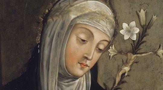Święta Katarzyna ze Sieny, dziewica i doktor Kościoła patronka Europy (29.04.2019)