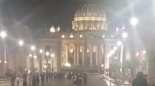 W przedświątecznym Rzymie (17.04.2019)