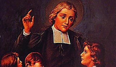Święty Jan Chrzciciel de la Salle, prezbiter (07.04.2019)