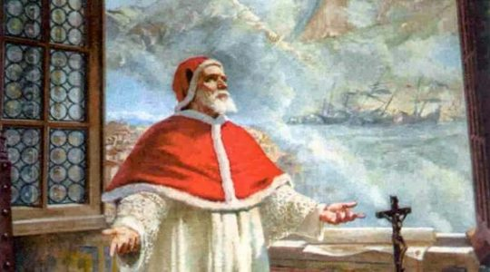 Święty Pius V, papież (30.04.2019)