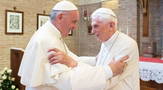 Podwójne życzenia dla Benedykta XVI (16.04.2019)