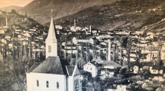 Kościół i meczet w Foči (09.05.2019)