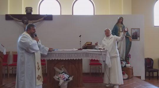 Siostra Kornelia mówi o swojej posłudze (1.05. 2019)