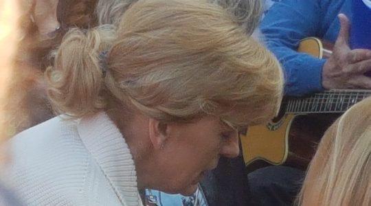 Relacja z modlitwy z Mirianą przy Błękitnym Krzyżu w Medjugorie  (02.05.2019)