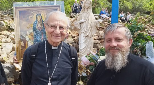Modlitwa i cisza pod Błękitnym Krzyżem (3.05.2019)