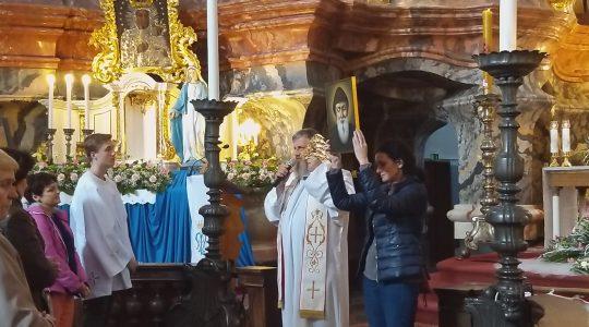 W kościele św. Ducha w Wilnie spotykają się na modlitwie Polacy  (9.05.2019)