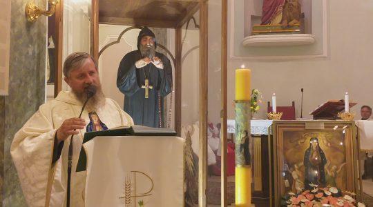 Niegowicki obraz Matki Bożej już na południu Włoch (30.05.2019)