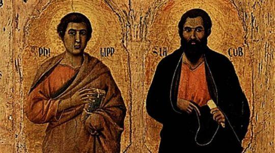 Święci Apostołowie Filip i Jakub (06.05.2019)