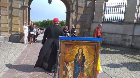 Transmisja z Mszy Świętej w drugim dniu pieszej pielgrzymki do Wdowic