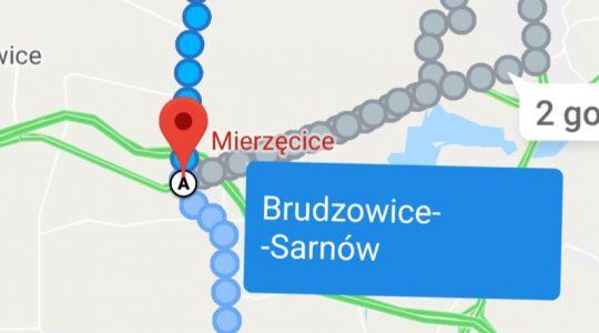 Trasa pieszej pielgrzymki księdza Jarka do Wadowic-dzień czwarty (22.05.2019)