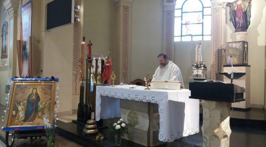 Transmisja z Mszy Świetej w ósmym dniu pieszej pielgrzymki 26.05.2019