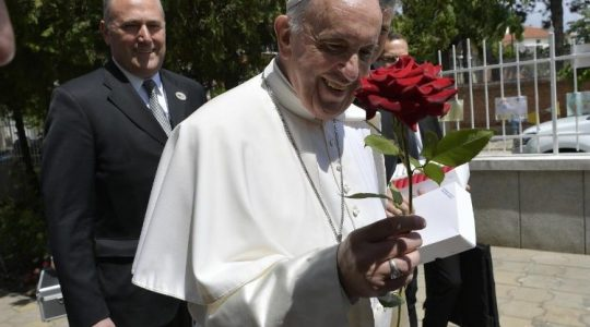Ekumeniczna modlitwa Ojca Swiętego Franciszka w Sofii (Vatican Service News - 06.05.2019)