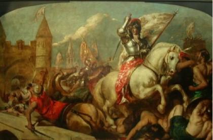 Święta Joanna d'Arc, dziewica (30.05.2019)