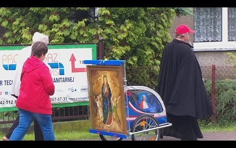 Modlitwa południowa Regina Coeli w 5 dniu pielgrzymki -Pregiera del medzzogiorno Regina Coeli (23.05.2019)