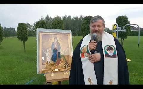 Transmisja z modlitwy Regina Coeli-In diretta preghiera Regina Coeli 26.05.2019