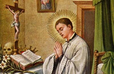Święty Alojzy Gonzaga, zakonnik (21.06.2019)