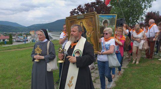 Procesja przez Rożnavę (24. 06. 2019)