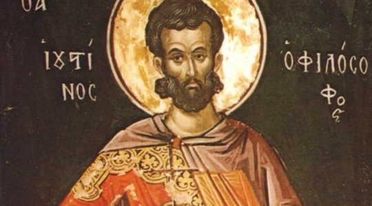 Święty Justyn, męczennik (1.06.2019)