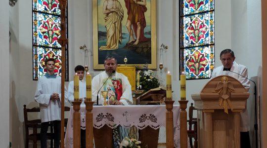 Trwają dni skupienia w parafii Białogarda (25.06.2019)