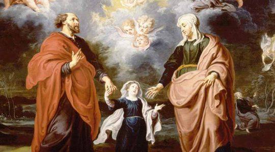 Święci Anna i Joachim, rodzice Najświętszej Maryi Panny (26.07.2019)