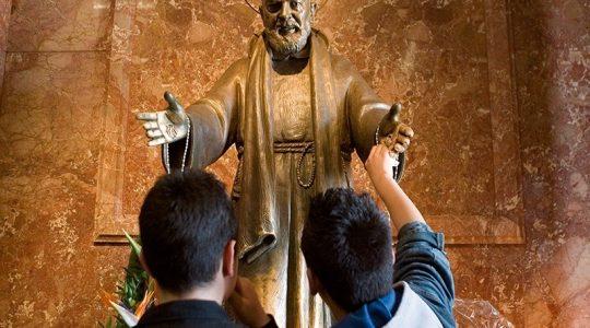 Pomógł mu św. o. Pio  (30.07.2019)
