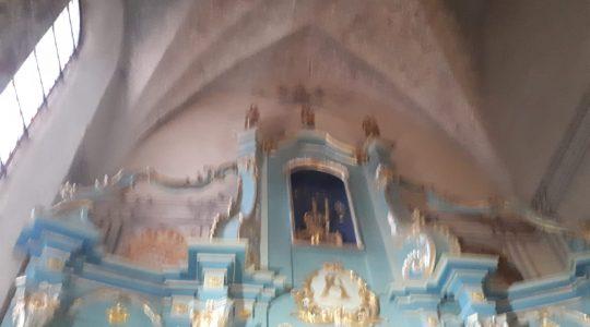Jedna z pierwszych kaplic św. Jana Pawła II (9.07.2019)