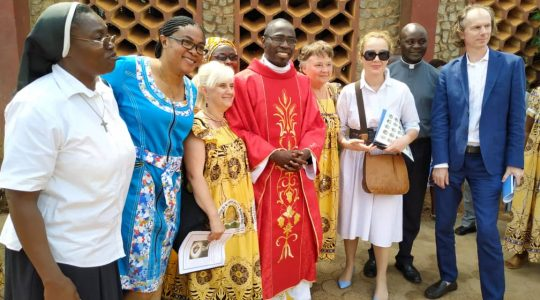 Prymicje ks. Jeana w Kamerunie (1.07.2019)