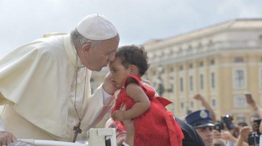 Ojciec Święty uratował dziecko (29.07.2019)