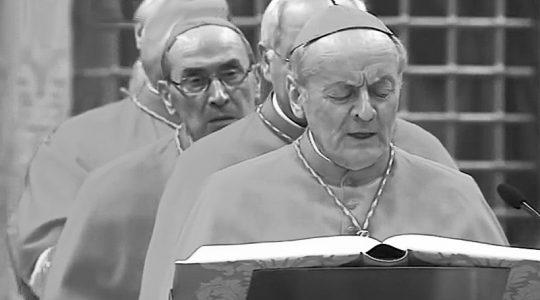 Nie żyje  kard. Paolo Sardi(Vatican Service News - 14.07.2019)