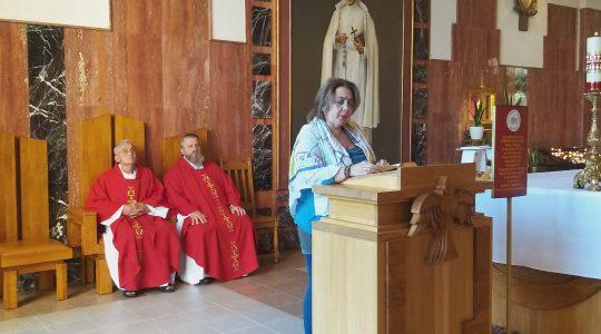 Msza św. w sanktuarium w  Licheniu (25.08. 2019)