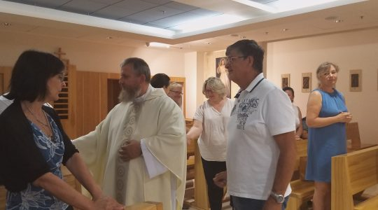 Włosi gorąco dziękowali za pielgrzymkę do Polski i na Litwę (30.08.2019)
