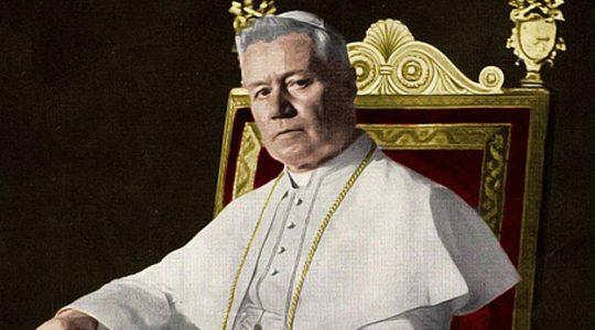 Święty Pius X, papież (21.08.2019)