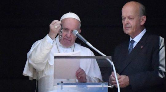 Papież pozdrawia pielgrzymów przybyłych na Jasną Górę (Vatican Service News - 15.08.2019)