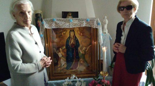 Niegowicki wizerunek Maryi pielgrzymuje po Italii (13.08.2019)