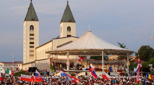 Wspomnienie Festiwalu Młodych w Medjugorie (08.08.2019)