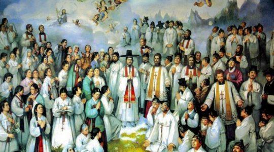 Święci męczennicy Andrzej Kim Tae-gŏn, prezbiter, Paweł Chŏng Ha-sang i Towarzysze (20.09.2019)